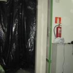 Protección de estructura metálica mediante tratamiento EI-90