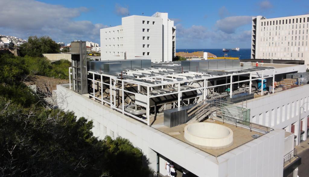 Hemos realizado el mayor aislamiento acústico industrial realizado en Canarias